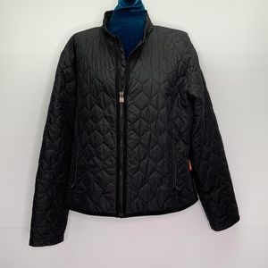 Burton Jacket Womens Size Medium Black Quilted
